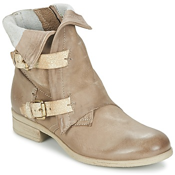 Shoes Women Mid boots Dream in Green ANJELIKA BEIGE