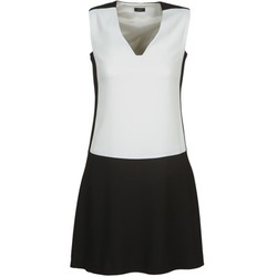 Clothing Women Short Dresses Joseph DORIA Black / White