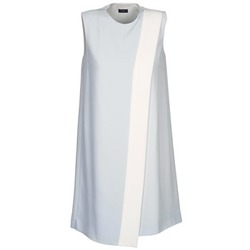 Clothing Women Short Dresses Joseph SOL Grey / White