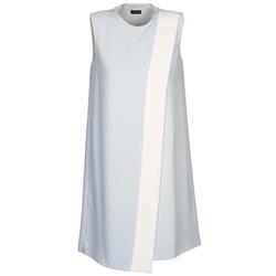 Clothing Women Short Dresses Joseph SOL Grey / White