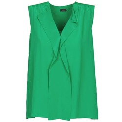 Clothing Women Tops / Sleeveless T-shirts Joseph DANTE Green