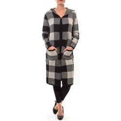 Clothing Women Jackets / Cardigans De Fil En Aiguille Cardigan long K100 beige Beige