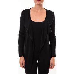 Clothing Women Jumpers De Fil En Aiguille gilet 2020 noir Black