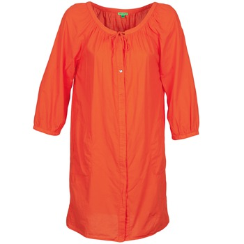 Clothing Women Short Dresses Bensimon FOURTY Orange