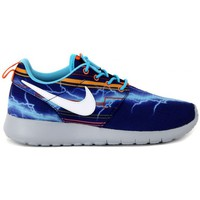 Shoes Women Low top trainers Nike ROSHE ONE PRINT GS Multicolore