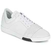 Shoes Men Low top trainers Bikkembergs OLYMPIAN LEATHER White