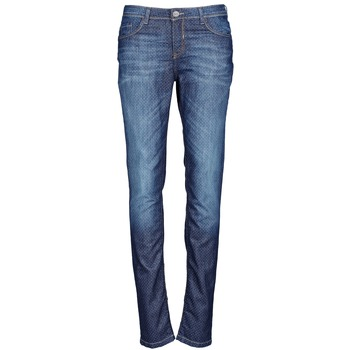 Clothing Women slim jeans Chipie NIEBLA Blue