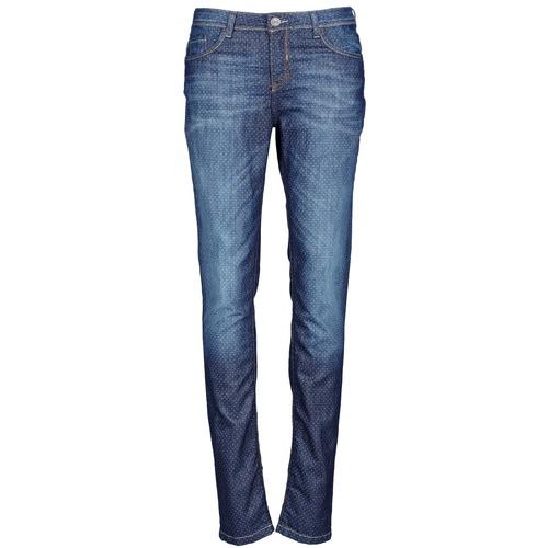 Clothing Women slim jeans Chipie NIEBLA Blue