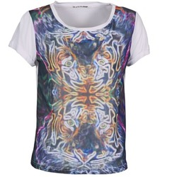 Clothing Women short-sleeved t-shirts DDP PORIX Multicoloured