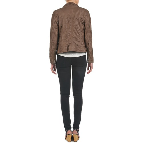 Ddp Girup Brown - Free Delivery Clothing Leather Jackets / Imitation Women 7500 Sale
