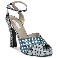 Shoes Women Sandals Marc Jacobs Elap Blue / White