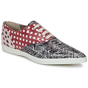 Shoes Women Low top trainers Marc Jacobs Elap Black / White / Red