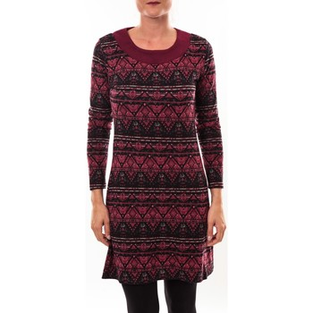 Clothing Women Tunics Barcelona Moda Robe pull 71565011 bordeaux Red