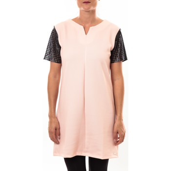 Clothing Women Short Dresses Coquelicot Robe 15207/208 rose Pink