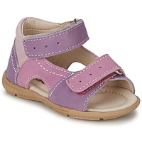 Shoes Girl Sandals Citrouille et Compagnie KIMMY G Lilac / Purple / Nuee