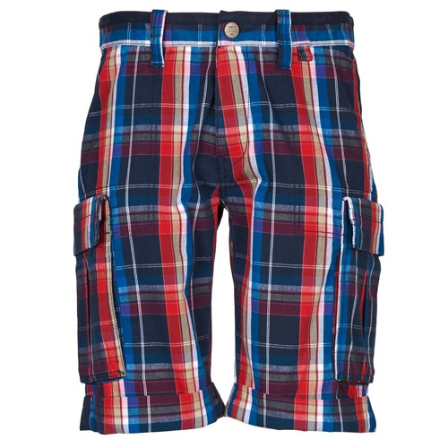 Clothing Men Shorts / Bermudas Oxbow TAKAROA Marine / Red