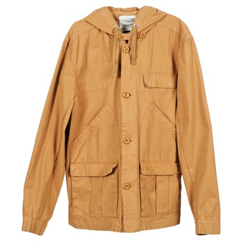 Clothing Men Parkas Oxbow FAKAHINA Brown