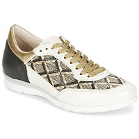 Shoes Women Low top trainers Mjus FORCE Black / White / Gold