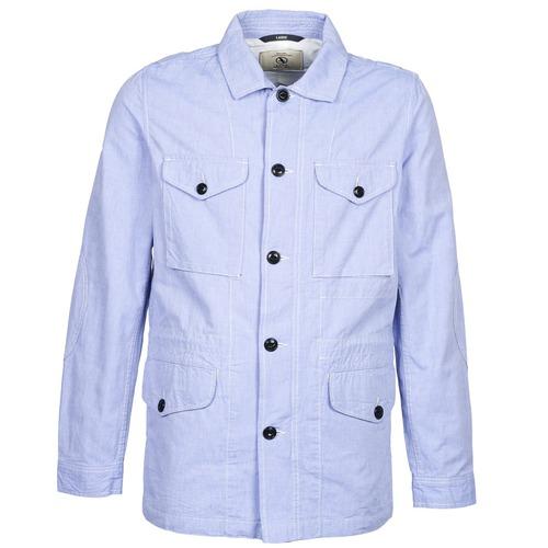 Clothing Men Parkas Aigle STONEFISH Blue