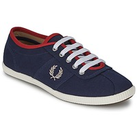Shoes Women Low top trainers Fred Perry HAYES CANVAS Blue