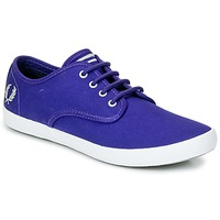 Shoes Men Low top trainers Fred Perry FOXX TWILL Purple