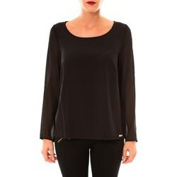 Clothing Women Tops / Blouses Little Marcel Blouse Tarius noir Black