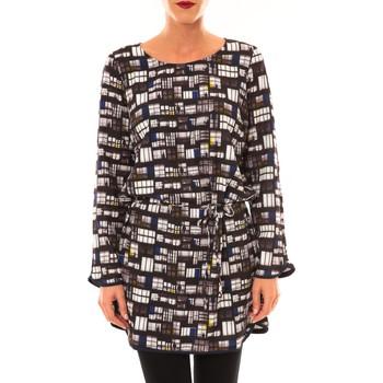 Clothing Women Short Dresses Little Marcel Robe Rubane noir Black