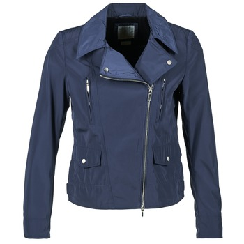 Clothing Women Jackets Geox ZIPUL Marine