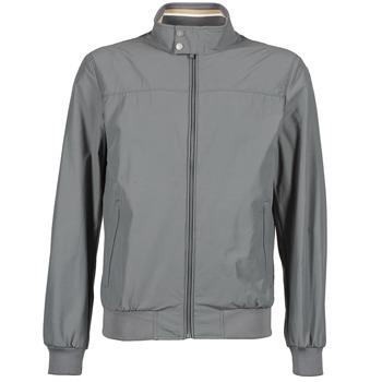 Clothing Men Jackets Geox JIRDAN Grey