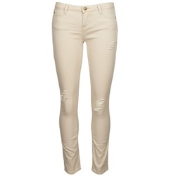 Clothing Women Cropped trousers Acquaverde SCARLETT Beige