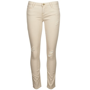 Clothing Women slim jeans Acquaverde SCARLETT Beige