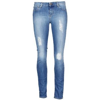 Clothing Women Cropped trousers Acquaverde SCARLETT Blue