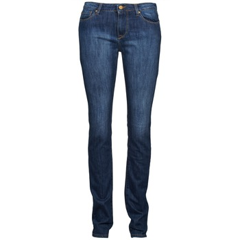 Clothing Women Straight jeans Acquaverde NEW GRETTA Blue