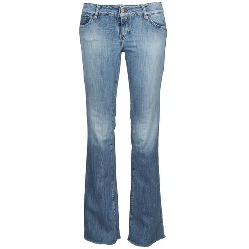 Clothing Women bootcut jeans Acquaverde ADRIANA Blue