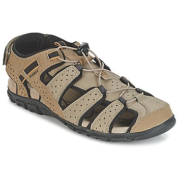 Shoes Men Outdoor sandals Geox S.STRADA B SABLE