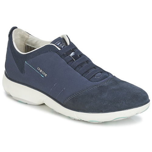 Shoes Women Low top trainers Geox NEBULA C Marine