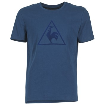 Clothing Men short-sleeved t-shirts Le Coq Sportif ABRITO T MARINE