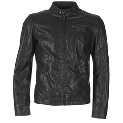 Clothing Men Jackets Benetton FIZELLE Black