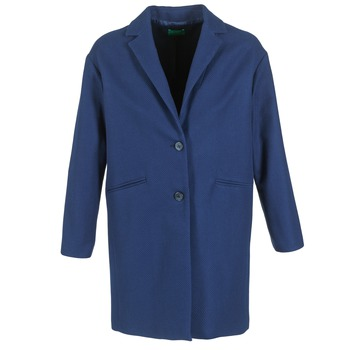 Clothing Women coats Benetton AGRETE MARINE