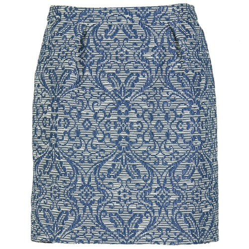 Clothing Women Skirts Benetton LORDINA Marine