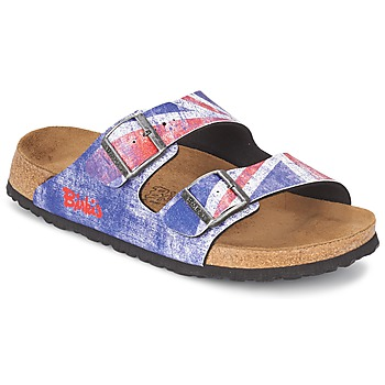 Shoes Men Mules Birki's SANTIAGO Flag / Union / Jack