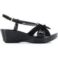 Shoes Women Sandals Susimoda 299638 Wedge sandals Women Nero