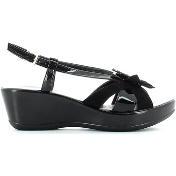Shoes Women Sandals Susimoda 299638 Wedge sandals Women Black Black