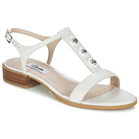 Shoes Women Sandals Clarks BLISS SHIMMER White