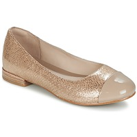 Shoes Women Flat shoes Clarks FESTIVAL GOLD Champagne