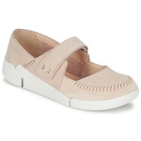 Shoes Women Flat shoes Clarks TRI AMANDA Pink