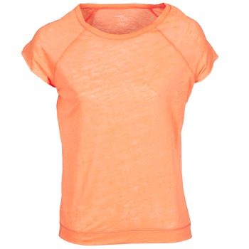 Clothing Women short-sleeved t-shirts Majestic 2105 Orange / Fluorescent