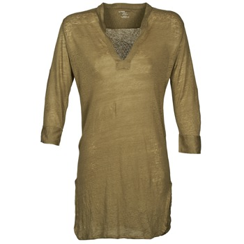 Clothing Women Tunics Majestic 530 Kaki