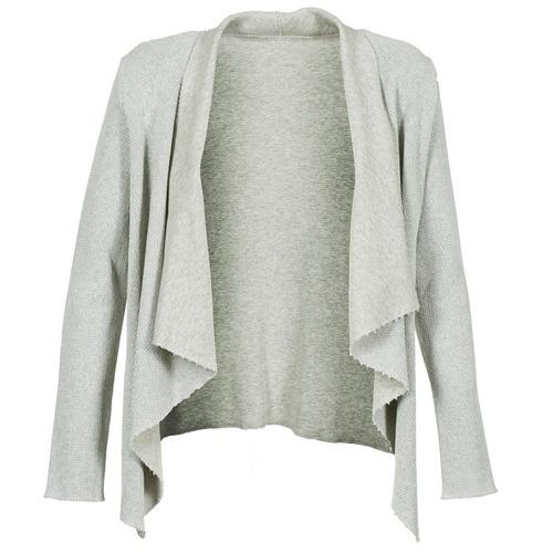 Clothing Women Jackets / Cardigans Majestic 4003 Grey