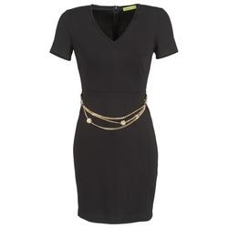 Clothing Women Short Dresses Versace Jeans NDM911 EASY Black